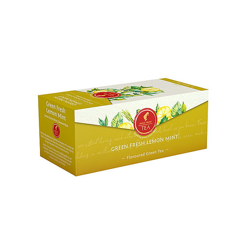 Julius Meinl - Čaj Tea Bags China Green Lemon Lime 25 x 2,5 g