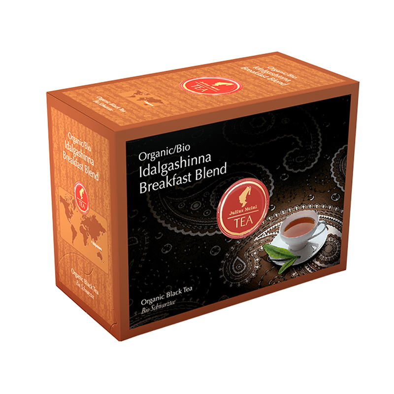 Julius Meinl - Čaj Big Bags Bio Idalgashinna Breakfast Blend 20 x 3 g