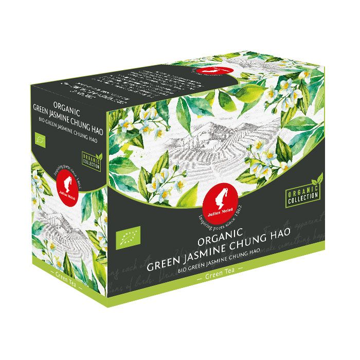 Julius Meinl - Čaj Big Bags Bio China Green Jasmine Chung Hao 20 x 3 g
