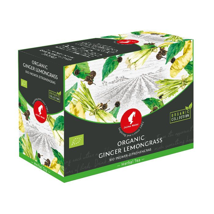 Julius Meinl - Čaj Big Bags Bio Asian Spirit Ginger Lemongrass 20 x 3 g