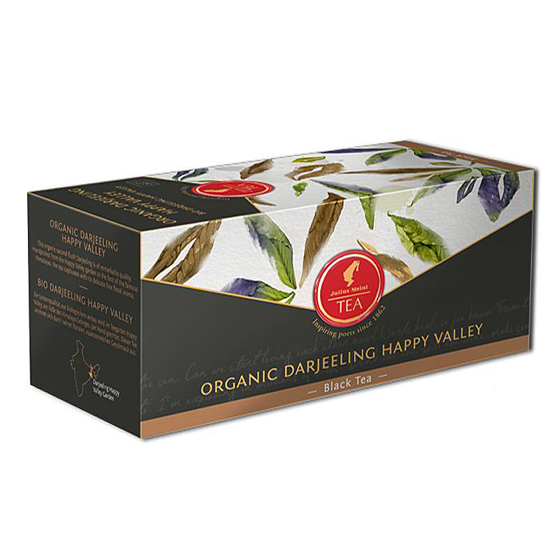 Julius Meinl - Čaj Leaf Bags Organic Darjeeling Happy Valley